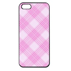 Zigzag Pattern Apple Iphone 5 Seamless Case (black) by Valentinaart