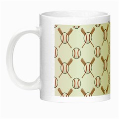 Baseball Bat Scrapbook Sport Night Luminous Mugs by Mariart