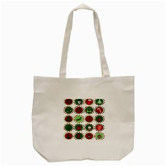 Christmas Tote Bag (cream) by Mariart