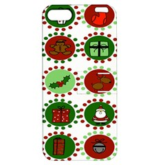 Christmas Apple Iphone 5 Hardshell Case With Stand by Mariart