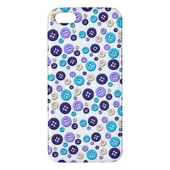 Buttons Chlotes Iphone 5s/ Se Premium Hardshell Case by Mariart