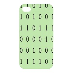 Code Number One Zero Apple Iphone 4/4s Premium Hardshell Case by Mariart