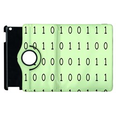 Code Number One Zero Apple Ipad 3/4 Flip 360 Case by Mariart