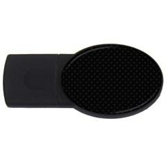 Dots Usb Flash Drive Oval (4 Gb) by Valentinaart