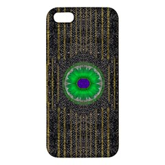 In The Stars And Pearls Is A Flower Apple Iphone 5 Premium Hardshell Case by pepitasart