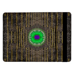 In The Stars And Pearls Is A Flower Samsung Galaxy Tab Pro 12 2  Flip Case by pepitasart