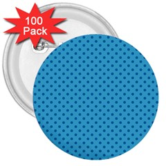 Dots 3  Buttons (100 Pack)  by Valentinaart