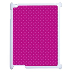 Dots Apple Ipad 2 Case (white) by Valentinaart