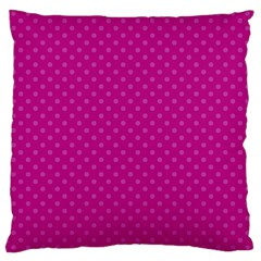 Dots Large Cushion Case (one Side) by Valentinaart