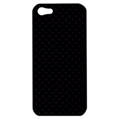 Dots Apple Iphone 5 Hardshell Case by Valentinaart