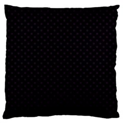 Dots Large Flano Cushion Case (two Sides) by Valentinaart