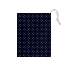 Dots Drawstring Pouches (medium)  by Valentinaart
