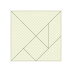 Dots Acrylic Tangram Puzzle (4  X 4 ) by Valentinaart