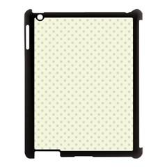 Dots Apple Ipad 3/4 Case (black) by Valentinaart