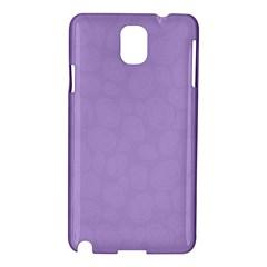 Floral Pattern Samsung Galaxy Note 3 N9005 Hardshell Case by Valentinaart