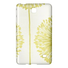 Flower Floral Yellow Samsung Galaxy Tab 4 (8 ) Hardshell Case  by Mariart