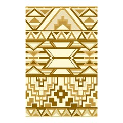 Geometric Seamless Aztec Gold Shower Curtain 48  X 72  (small)  by Mariart