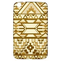 Geometric Seamless Aztec Gold Samsung Galaxy Tab 3 (8 ) T3100 Hardshell Case  by Mariart