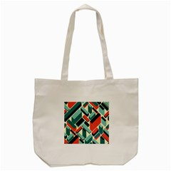 German Synth Stock Music Plaid Tote Bag (cream) by Mariart