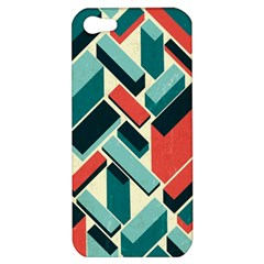 German Synth Stock Music Plaid Apple Iphone 5 Hardshell Case by Mariart