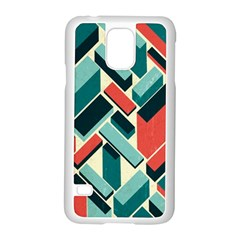 German Synth Stock Music Plaid Samsung Galaxy S5 Case (white) by Mariart