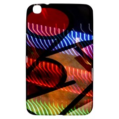 Graphic Shapes Experimental Rainbow Color Samsung Galaxy Tab 3 (8 ) T3100 Hardshell Case  by Mariart