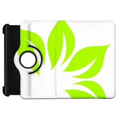 Leaf Green White Kindle Fire Hd 7  by Mariart
