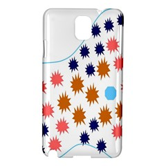 Island Top View Good Plaid Spot Star Samsung Galaxy Note 3 N9005 Hardshell Case by Mariart
