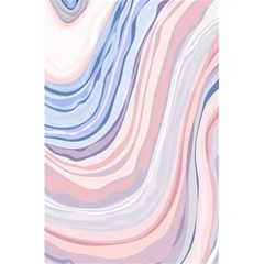 Marble Abstract Texture With Soft Pastels Colors Blue Pink Grey 5 5  X 8 5  Notebooks by Mariart