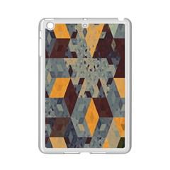 Apophysis Isometric Tessellation Orange Cube Fractal Triangle Ipad Mini 2 Enamel Coated Cases by Mariart