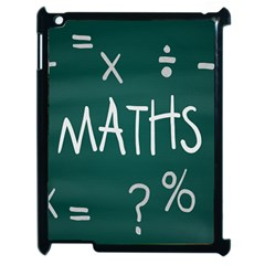 Maths School Multiplication Additional Shares Apple Ipad 2 Case (black) by Mariart
