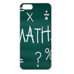Maths School Multiplication Additional Shares Apple Iphone 5 Seamless Case (white) by Mariart
