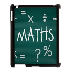 Maths School Multiplication Additional Shares Apple Ipad 3/4 Case (black) by Mariart