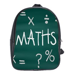 Maths School Multiplication Additional Shares School Bags (xl)  by Mariart