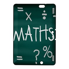 Maths School Multiplication Additional Shares Kindle Fire Hdx 8 9  Hardshell Case by Mariart