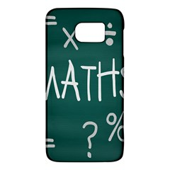 Maths School Multiplication Additional Shares Galaxy S6 by Mariart