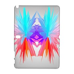 Poly Symmetry Spot Paint Rainbow Galaxy Note 1 by Mariart