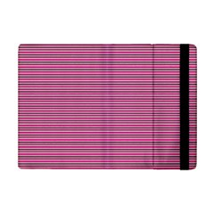 Lines Pattern Ipad Mini 2 Flip Cases by Valentinaart
