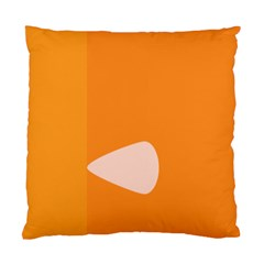 Screen Shot Circle Animations Orange White Line Color Standard Cushion Case (one Side) by Mariart