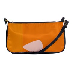 Screen Shot Circle Animations Orange White Line Color Shoulder Clutch Bags by Mariart