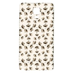 Autumn Leaves Motif Pattern Galaxy Note 4 Back Case by dflcprints