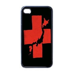 Sign Health Red Black Apple Iphone 4 Case (black) by Mariart