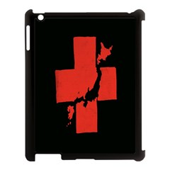 Sign Health Red Black Apple Ipad 3/4 Case (black) by Mariart