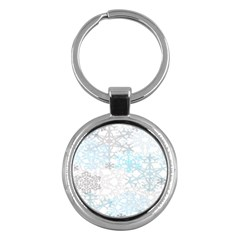 Sign Flower Floral Transparent Key Chains (round)  by Mariart