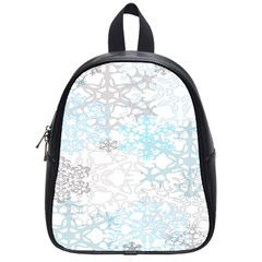 Sign Flower Floral Transparent School Bags (small)  by Mariart