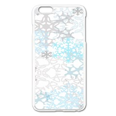 Sign Flower Floral Transparent Apple Iphone 6 Plus/6s Plus Enamel White Case by Mariart