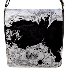 Abstraction Flap Messenger Bag (s) by Valentinaart