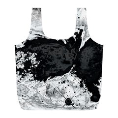 Abstraction Full Print Recycle Bags (l)  by Valentinaart