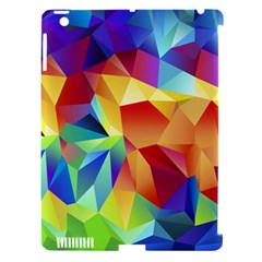 Triangles Space Rainbow Color Apple Ipad 3/4 Hardshell Case (compatible With Smart Cover) by Mariart