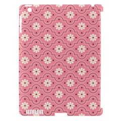 Sunflower Star White Pink Chevron Wave Polka Apple Ipad 3/4 Hardshell Case (compatible With Smart Cover) by Mariart